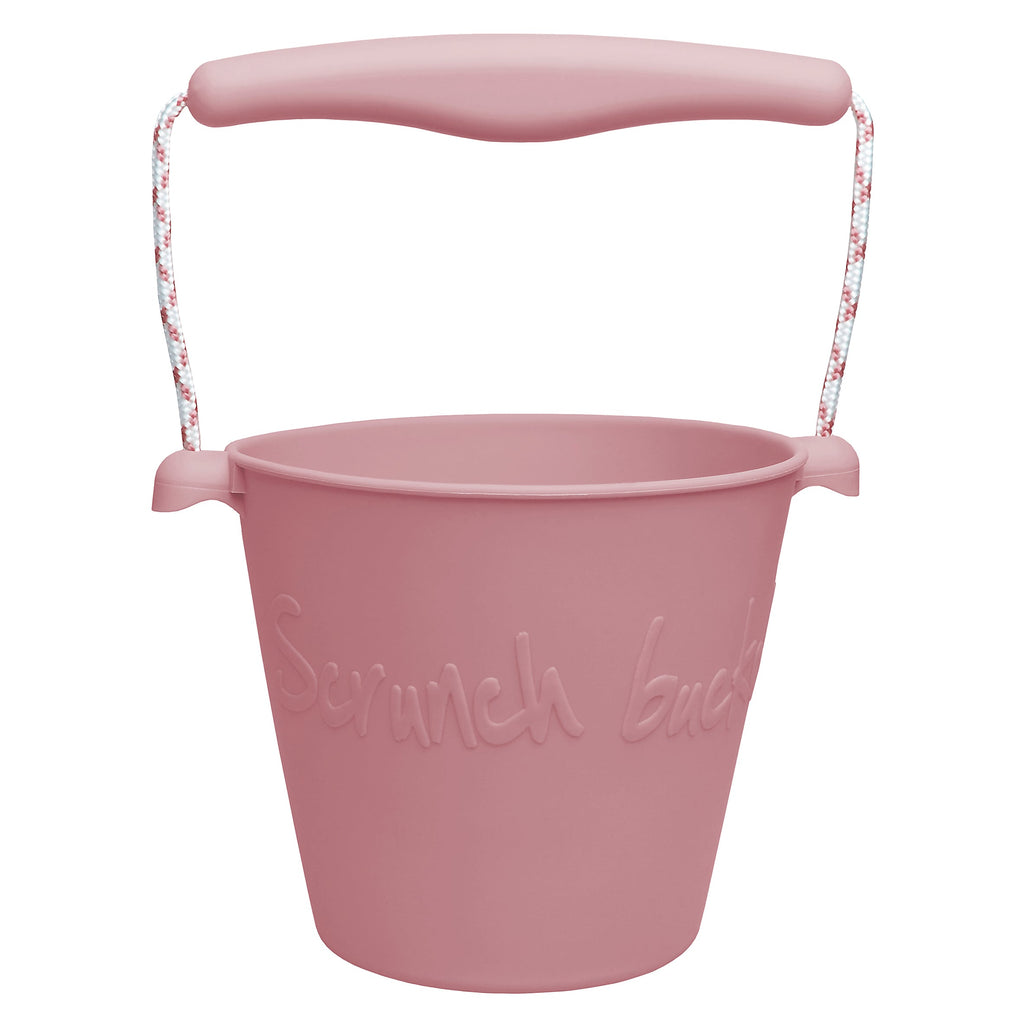 Scrunch Bucket Dusty Rose Happy Monkey Baby & Kids