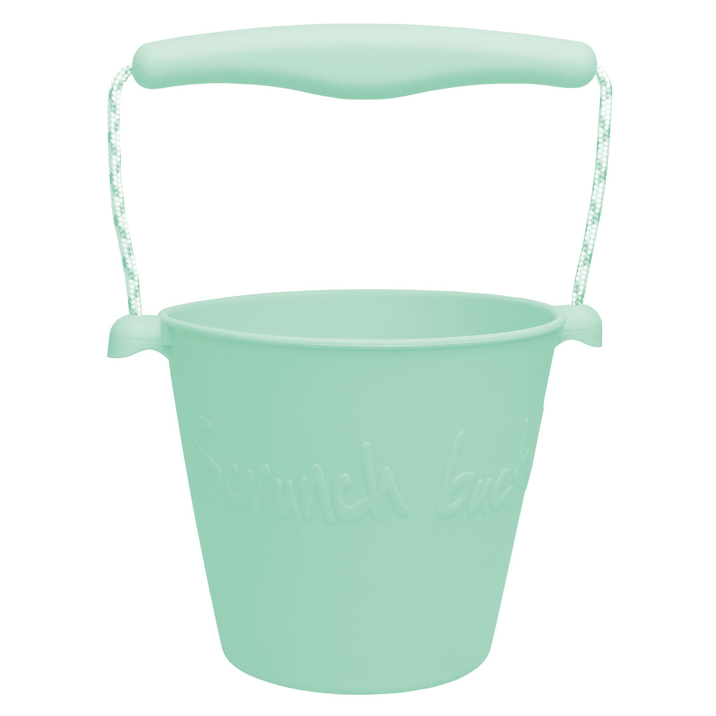 Scrunch Bucket Mint Happy Monkey Baby & Kids