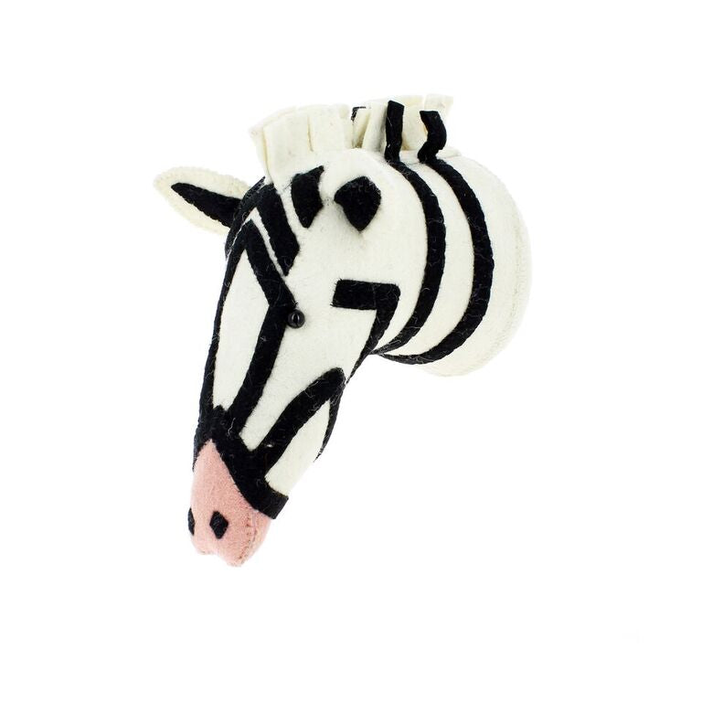 Zebra With Pink Nose Semi