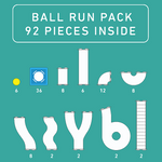 Connetix - Ball Run 92pcs