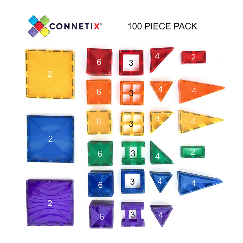 Connetix - Creative Pack 100pcs