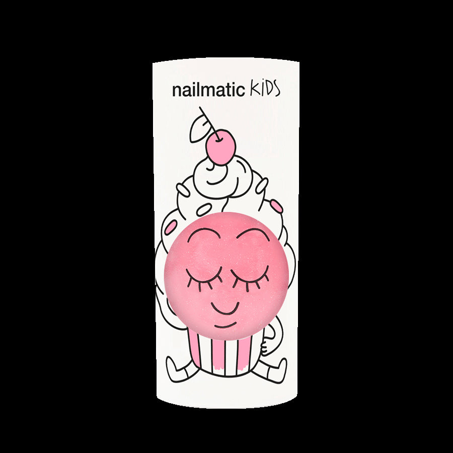 Nailmatic Water-based nail polish for kids - Cookie - pink Happy Monkey Baby & Kids