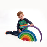 Bauspiel Giant Rainbow Happy Monkey Baby & Kids