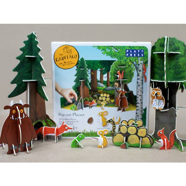 Gruffalo Pop-out Play Set