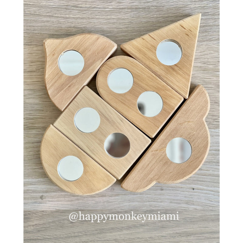 Bauspiel Mirror Blocks 12pcs