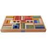 Rainbow Blocks in Tray - 54 pcs
