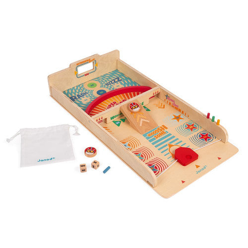 Retro Wooden Paddles Game