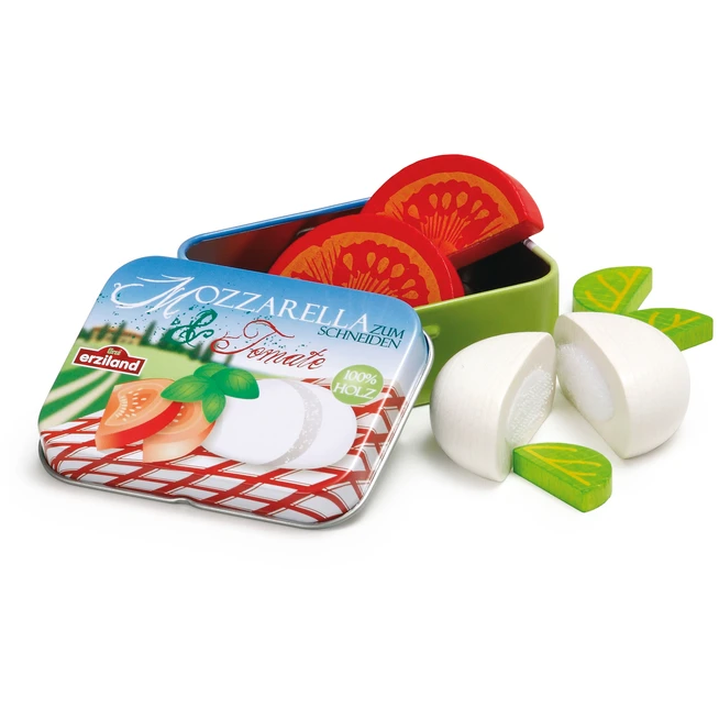 Mozzarella and Tomato in a Tin