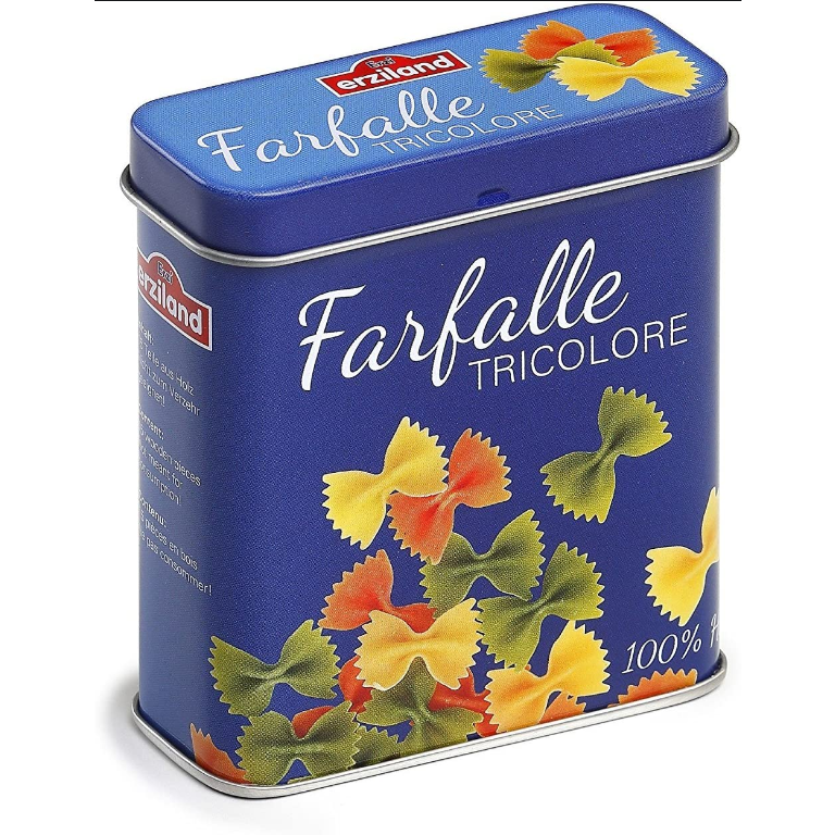 Pasta Farfalle in a Tin