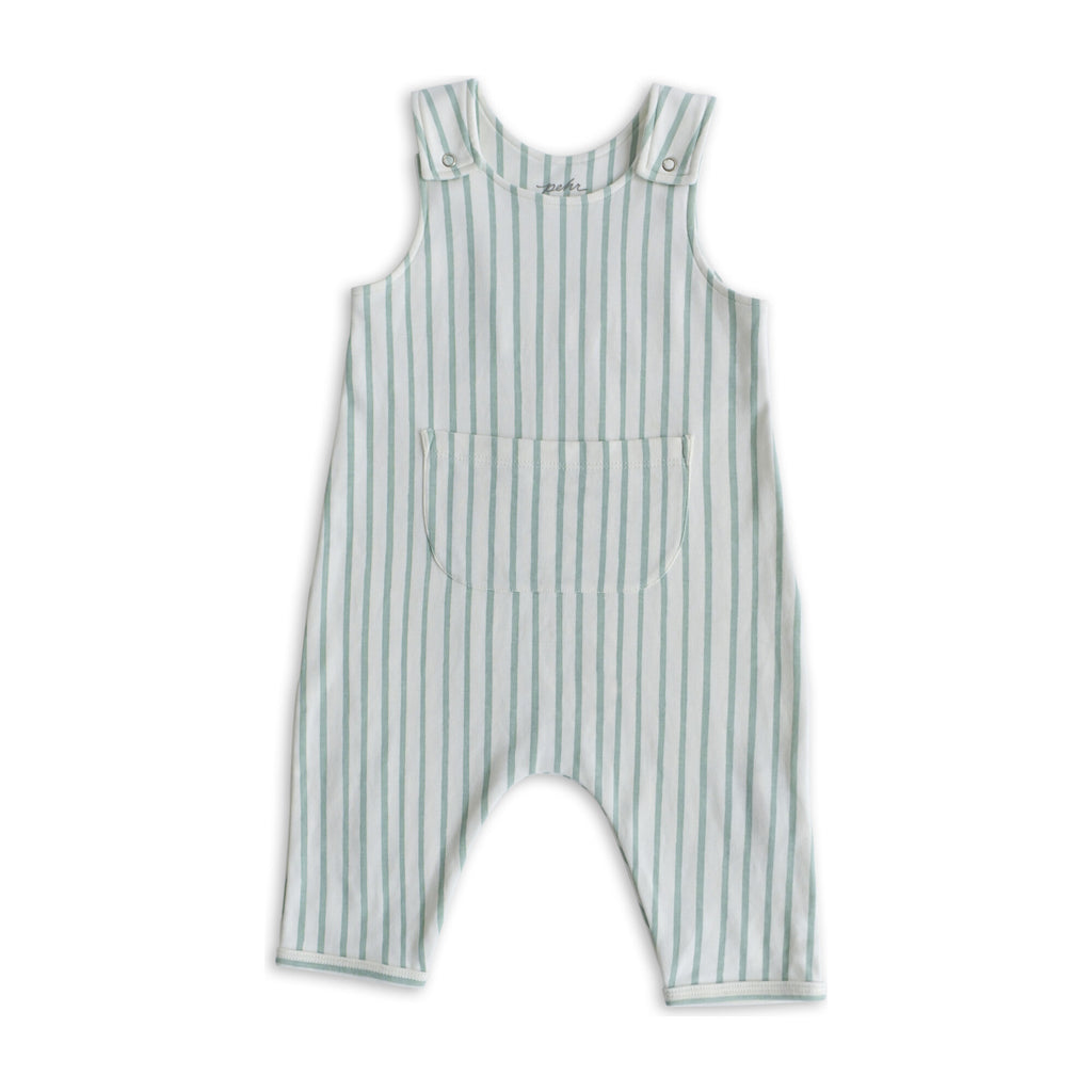 Overall - Stripes Away Sea / 3-6 mos Happy Monkey Baby & Kids