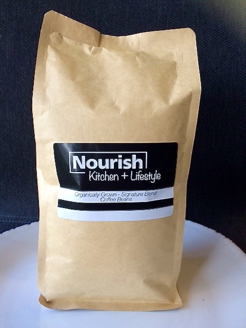 Nourish Organic Signature Blend Coffee (beans)