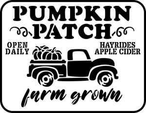 Pumpkin Patch | JRV Stencils