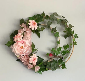 Wreath - Bird in a Hoop