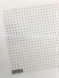 Thin Mount Sheet - Grid