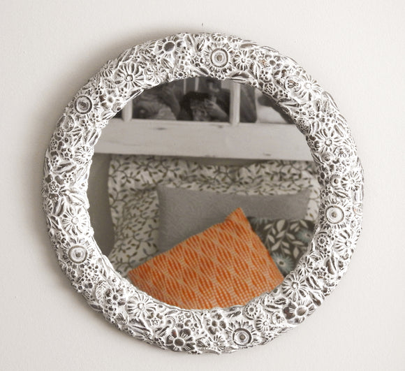 Hand Moulded Mirror