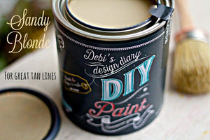 Sandy Blonde - DIY Paint