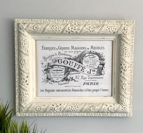 Distressed Vintage Frame
