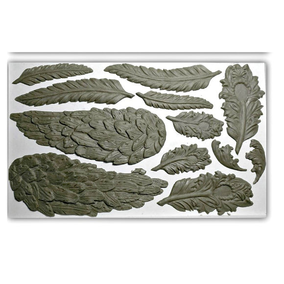 Wings & Feathers - Decor Mould