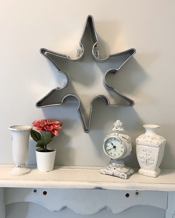 Large Tin Snowflake
