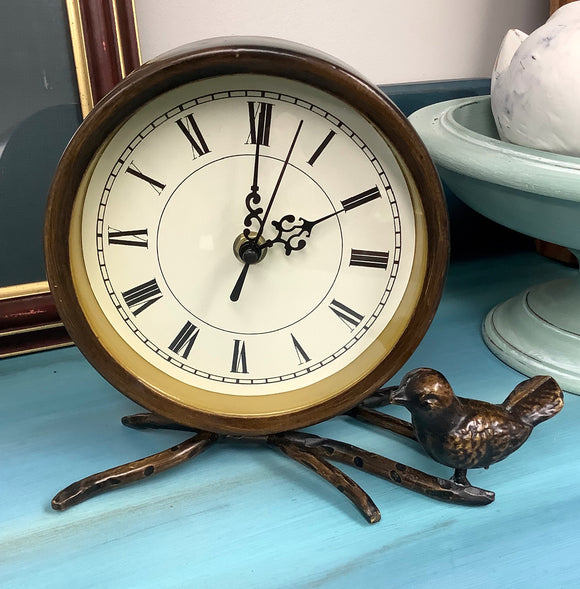 Bird & Branch Clock