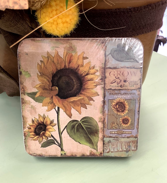 Coasters - Sunflowers
