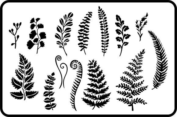 Ferns and Greenery | JRV Stencils