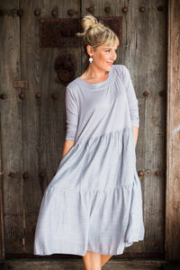 Lexie - Cotton Jersey/Cotton Silk