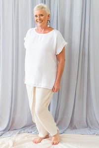 Jenny Top - Cotton Silk