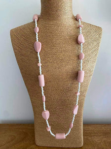 Floss Beaded Necklace