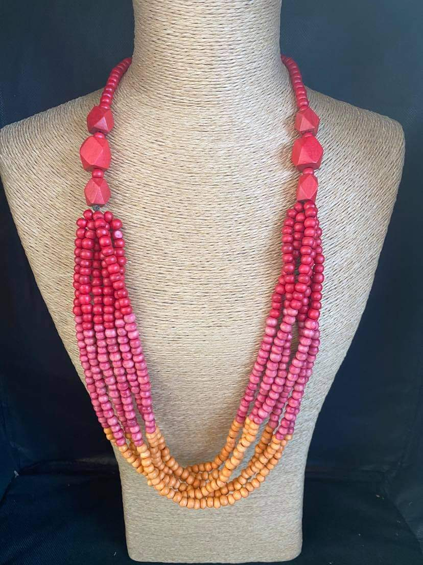 Beaded Summer Necklace