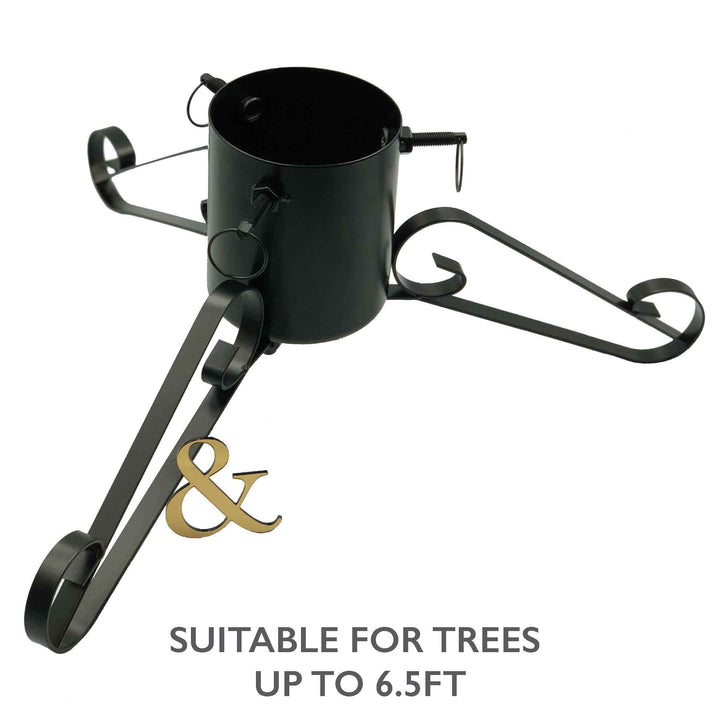 Decorative Rolled Metal Christmas Tree Stand