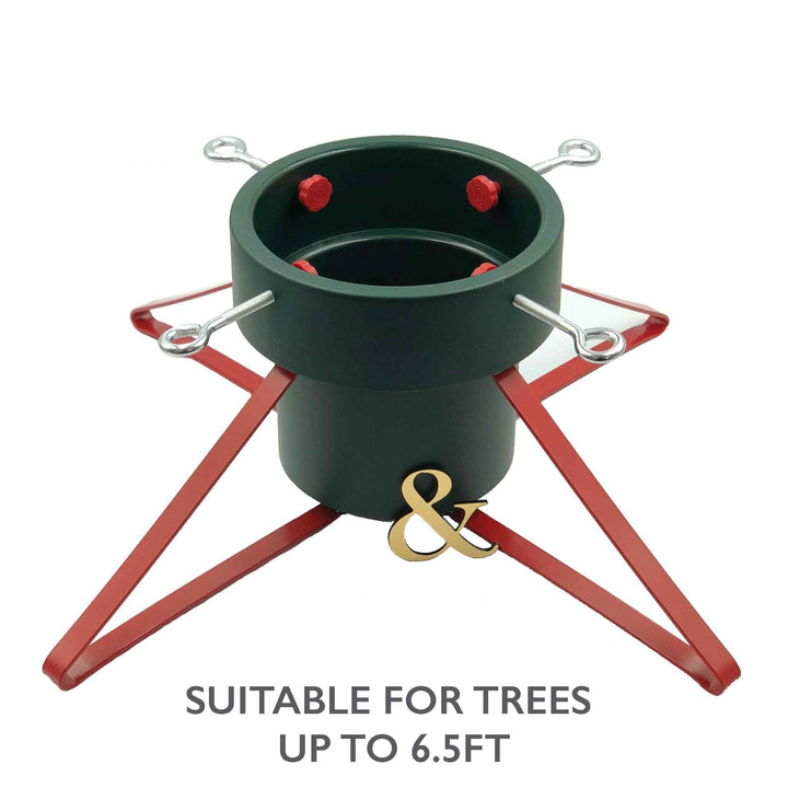 Large Classic Christmas Pudding Pot Tree Stand