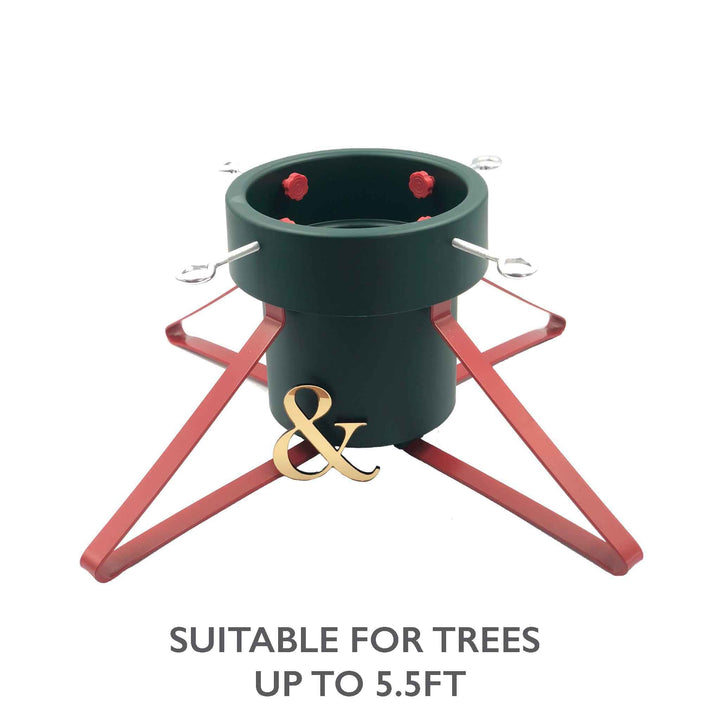 Small Classic Christmas Pudding Pot Tree Stand