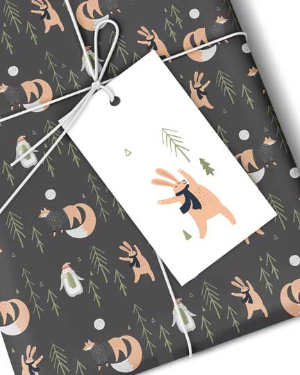 Forest Friends Gift Tags