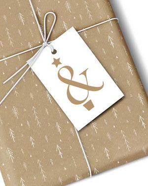 Premium Ampersand Gift Tags