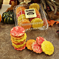 Fall Mini Sugar Cookies