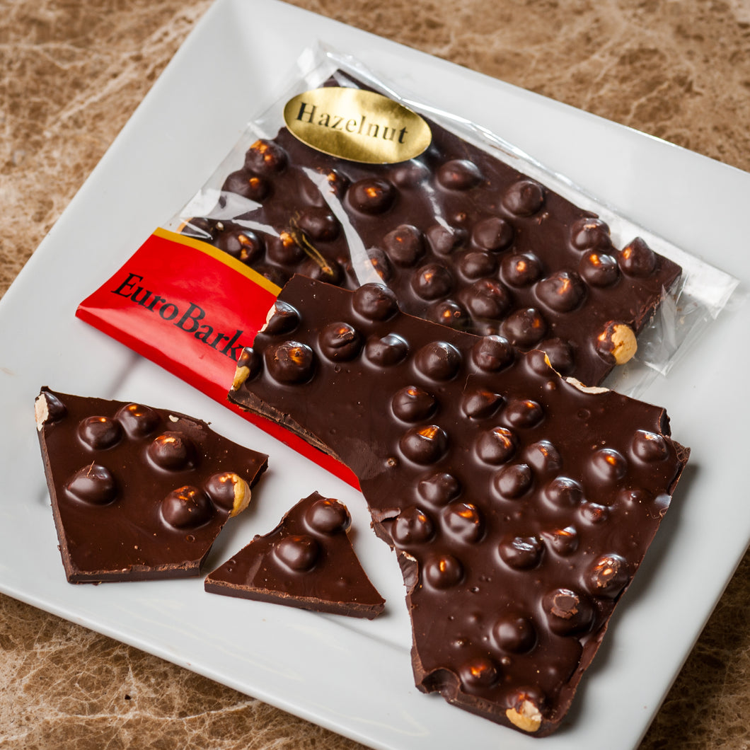 Dark Chocolate Hazelnut  EuroBark