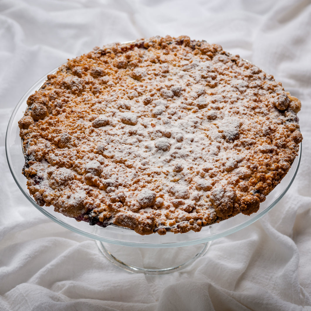 Cherry Cream Cheese Streusel