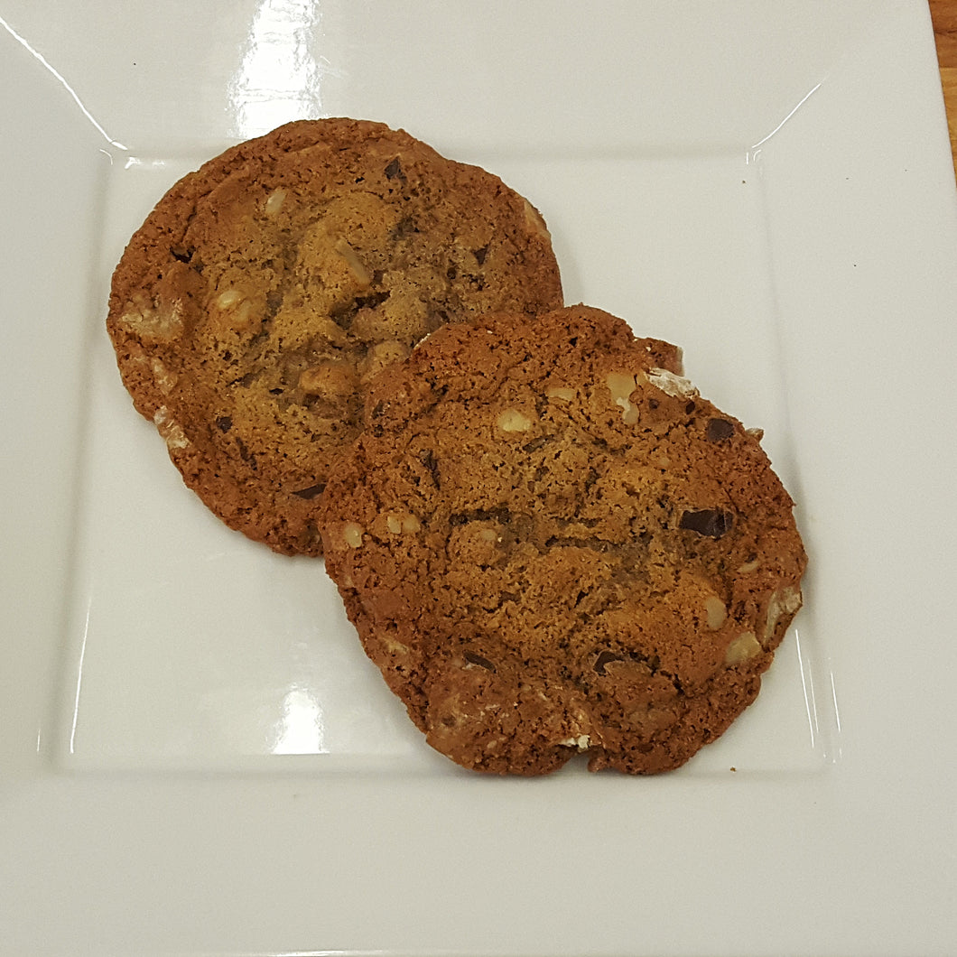 Chocolate Chunk Walnut  Cookies 4-Pack