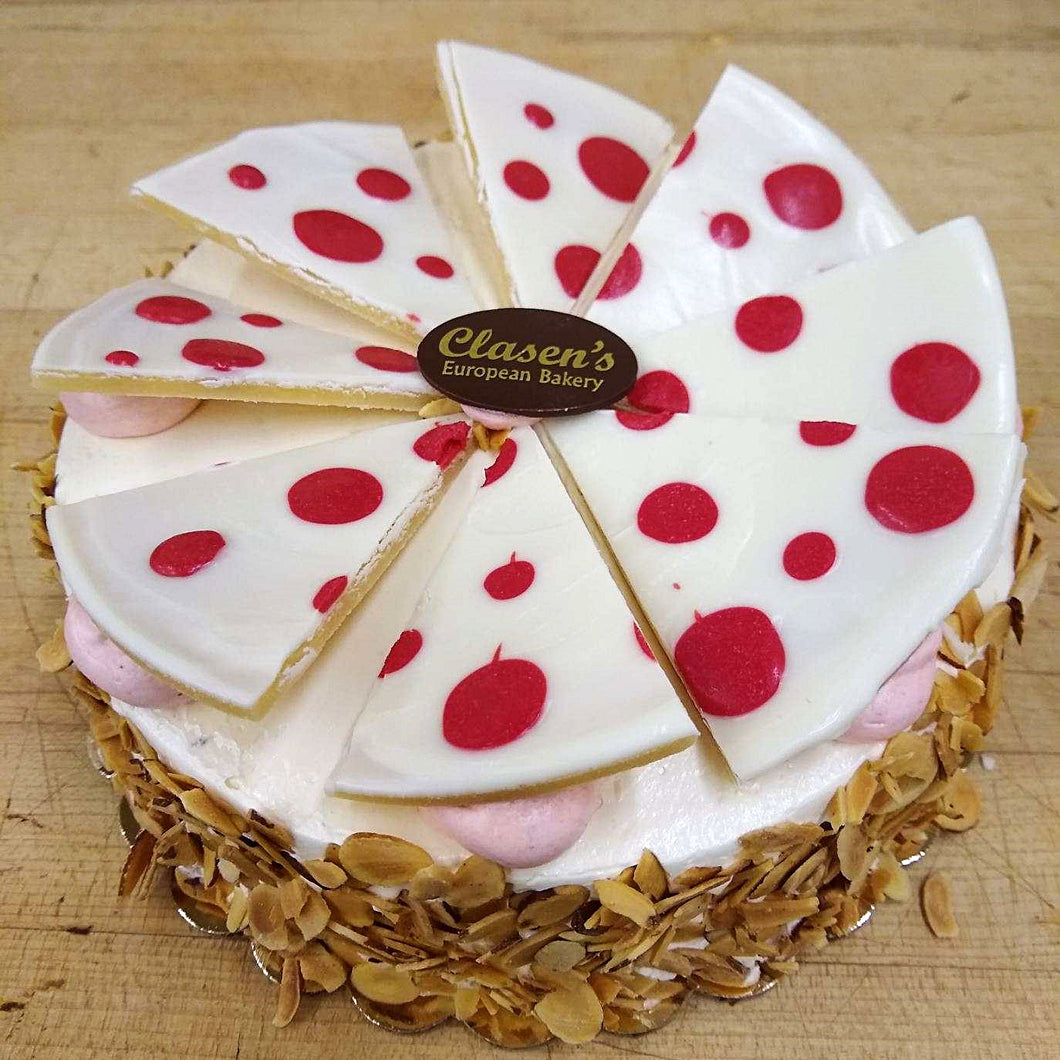 Strawberry Amaretto Torte