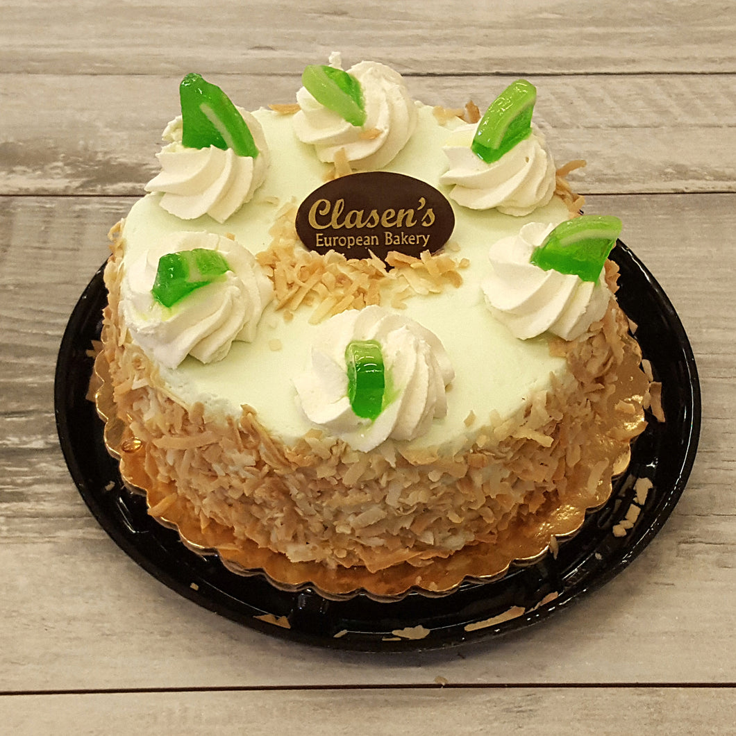 Coconut Key Lime Cheesecake