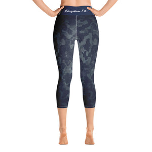 QueendomFit Yoga Capri Leggings
