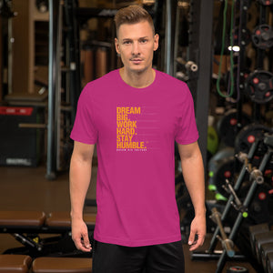 Men's T-Shirt Stay Humble Level Up