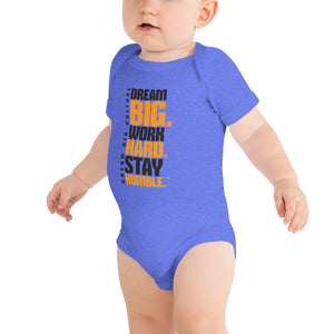 Infant Babysuit Work Hard