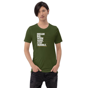 Men's T-Shirt Dream Big Level Up