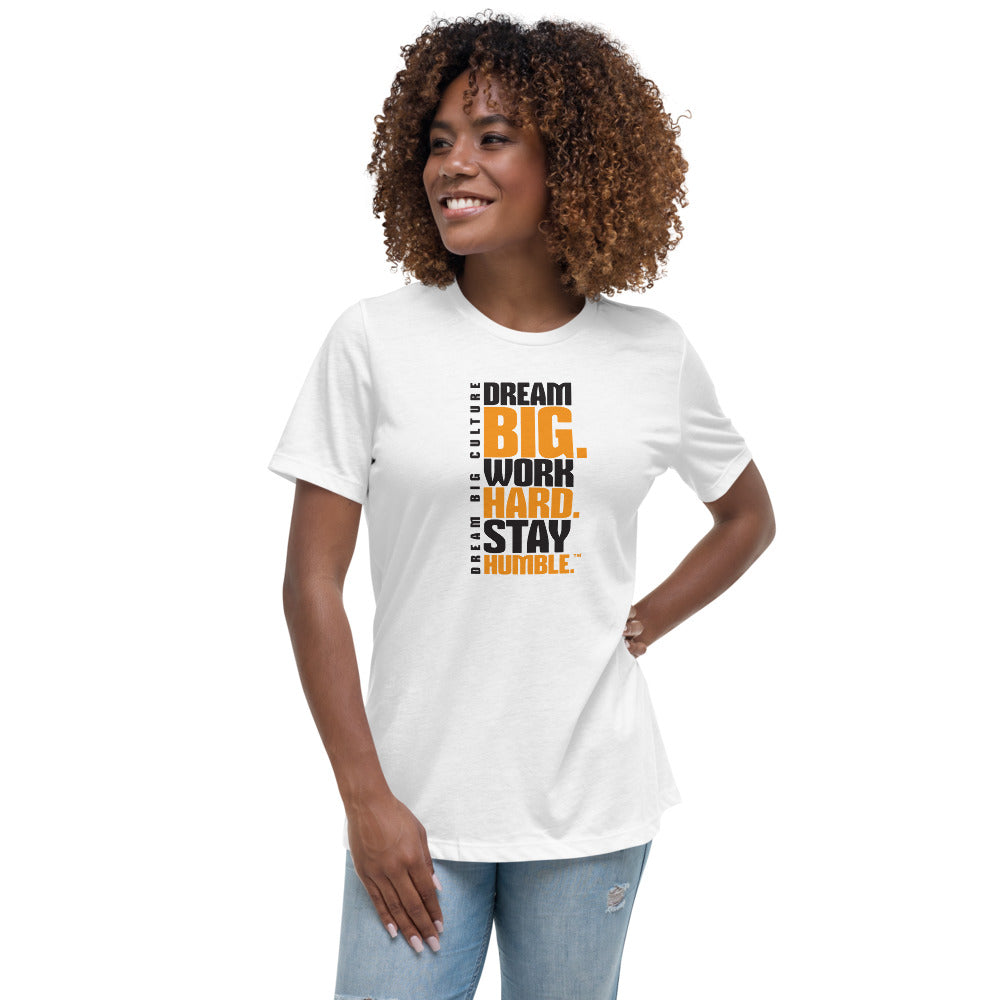 Women's T-Shirt Work Hard Level Up