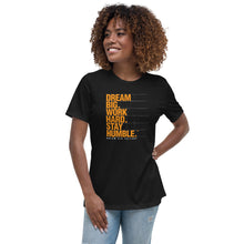 Load image into Gallery viewer, Women's T-Shirt Stay Humble Level Up