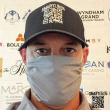 Load image into Gallery viewer, SMARTLINEN® Exclusive Washable Face Mask with SILVERbac Antimicrobial Technology