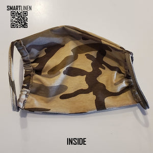 SMARTLINEN® Exclusive Camouflage COVID-19 Relief Face Mask [MADE IN USA]
