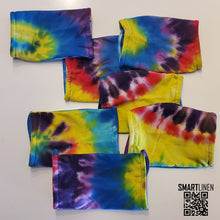 Load image into Gallery viewer, SMARTLINEN® Exclusive Tie Dyed COVID-19 Relief Face Mask [MADE IN USA]